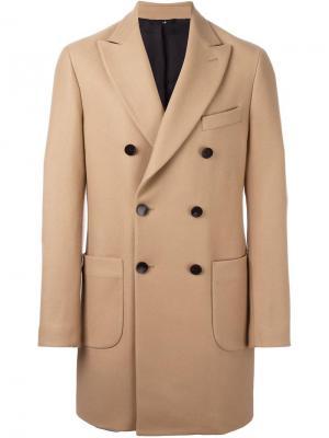 Пальто Gargano Hevo. Цвет: телесный