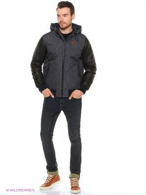Куртка VANS. Цвет: серый