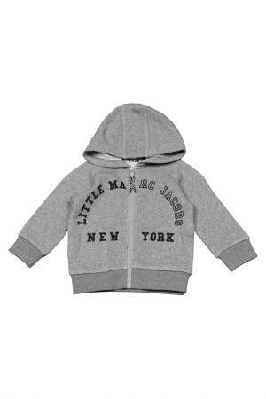 Кардиган Little Marc Jacobs. Цвет: светло-серый