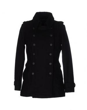 Пальто CENSURED. Цвет: черный