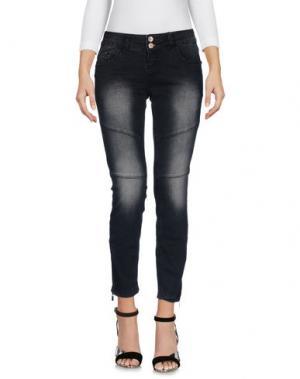 Джинсовые брюки FRESH MADE. Цвет: черный