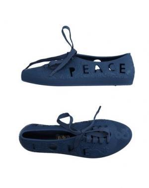 Обувь на шнурках F-TROUPE. Цвет: грифельно-синий
