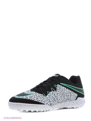 Шиповки HYPERVENOMX FINALE TF Nike. Цвет: черный, белый