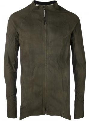 Куртка на молнии Isaac Sellam Experience. Цвет: зелёный
