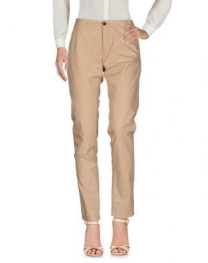 Повседневные брюки BELLEROSE. Цвет: песочный