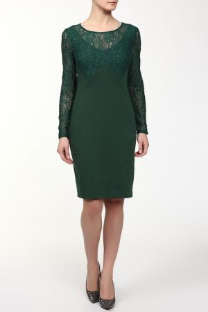 Платье M&L Collection. Цвет: зеленый