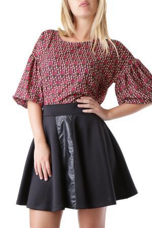 Блуза Cristina Gavioli. Цвет: фиолетовый