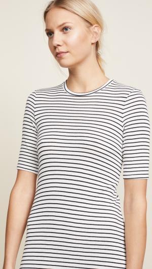 Hyannis Stripe Easy Dress Three Dots