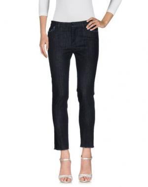 Джинсовые брюки LA ROSE. Цвет: синий