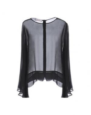 Блузка JUCCA. Цвет: черный