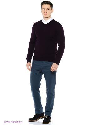 Пуловер Modis. Цвет: темно-бордовый