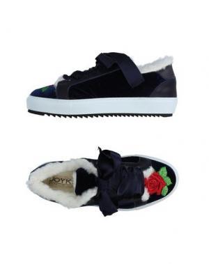 Низкие кеды и кроссовки JOYKS. Цвет: синий