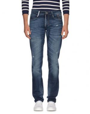 Джинсовые брюки 9.2 BY CARLO CHIONNA. Цвет: синий