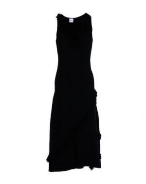 Платье длиной 3/4 AKEP. Цвет: черный