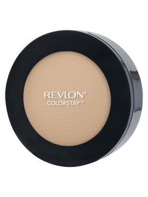 Пудра для лица компактная Colorstay Pressed Powder, Light medium 830 Revlon. Цвет: бежевый