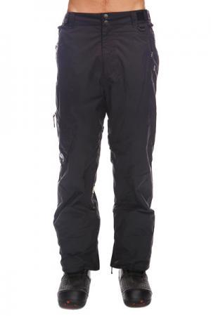 Штаны сноубордические  Skid Regular Black Apo. Цвет: черный