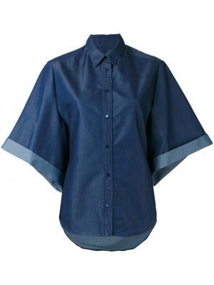 Джинсовая рубашка Veronique Branquinho. Цвет: синий