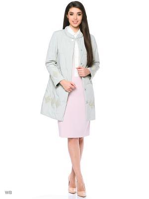 Пальто Romantic Collection.. Цвет: серо-зеленый