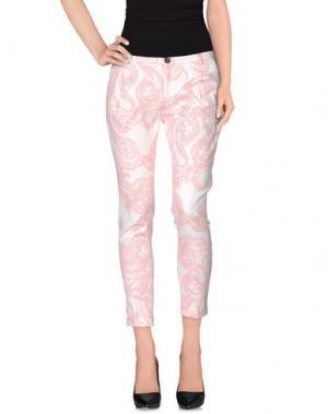 Повседневные брюки BRUNO MANETTI. Цвет: коралловый