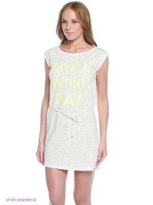 Пижама Women' Secret. Цвет: салатовый, белый