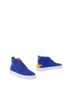 Полусапоги и высокие ботинки MACCHIA J. Цвет: синий