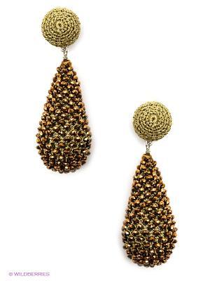 Серьги Kameo-bis. Цвет: бронзовый, золотистый
