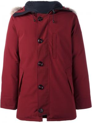 Куртка-пуховик Chateau Canada Goose. Цвет: красный