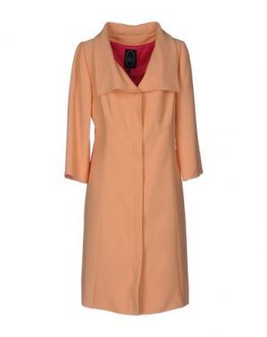Легкое пальто IVAN MONTESI. Цвет: абрикосовый