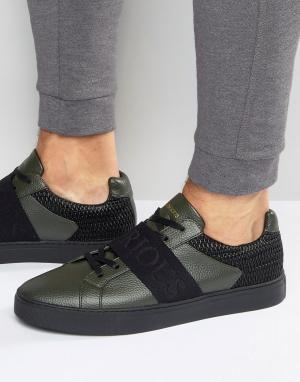 Glorious Gangsta Классические низкие кроссовки. Цвет: зеленый