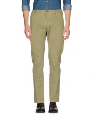 Повседневные брюки RANSOM. Цвет: зеленый-милитари