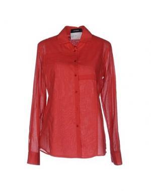 Pубашка CIVIDINI. Цвет: красный