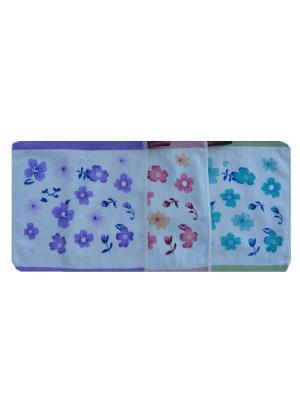 Набор салфеток A and C Collection. Цвет: розовый,фиолетовый