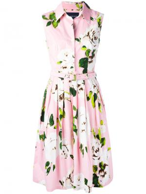 Платье Claire Samantha Sung. Цвет: розовый и фиолетовый