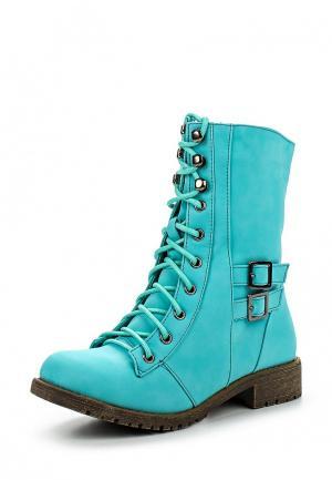 Ботинки Buonarotti. Цвет: бирюзовый
