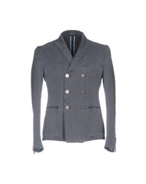 Пиджак DANIELE ALESSANDRINI. Цвет: серый