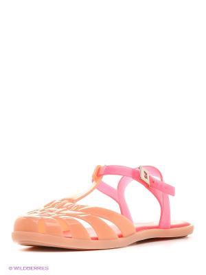 Сандалии ZAXY. Цвет: бледно-розовый, розовый