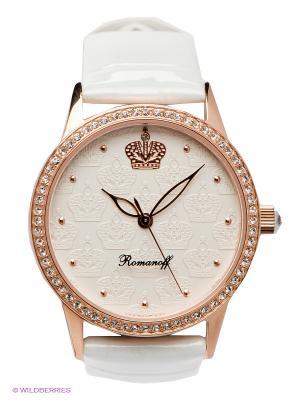 Часы Romanoff. Цвет: золотистый, белый