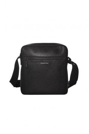 Мужская сумка FT-181981 Ermenegildo Zegna. Цвет: черный