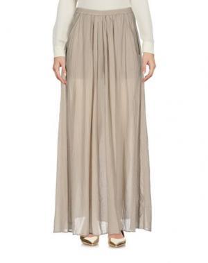 Длинная юбка EUROPEAN CULTURE. Цвет: бежевый