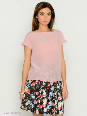 Блузка IMAGO. Цвет: бледно-розовый