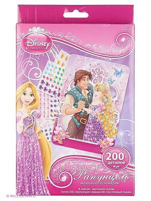 Disney Princess Мозаика -сингл Рапунцель Чудо-творчество. Цвет: фиолетовый, розовый, белый