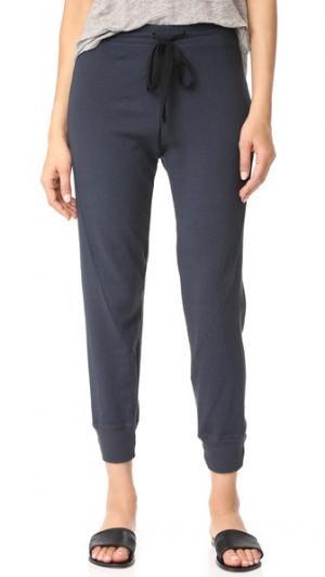 Укороченные спортивные брюки Twist Wilt. Цвет: голубой
