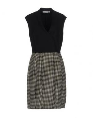 Короткое платье JEY COLE MAN. Цвет: черный