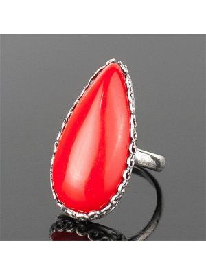 Кольцо Мариэтта им. коралл Колечки. Цвет: красный