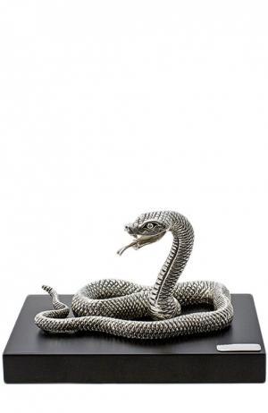 Скульптура Змея Tsar. Цвет: бесцветный