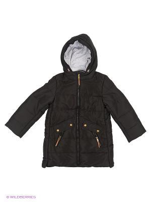 Куртка на толстом синтепоне Modis. Цвет: черный