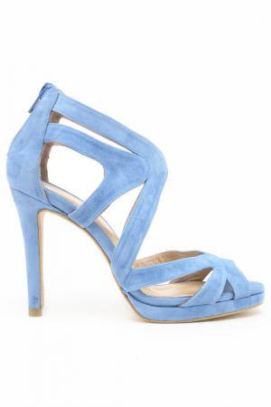 Босоножки DERI&MOD. Цвет: синий