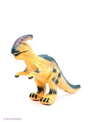Динозавр Паразауролоф Amico. Цвет: желтый, темно-зеленый