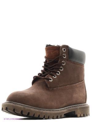 Ботинки Camelot. Цвет: коричневый