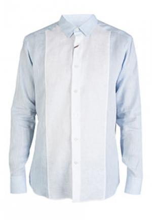 Рубашка BILANCIONI. Цвет: голубой